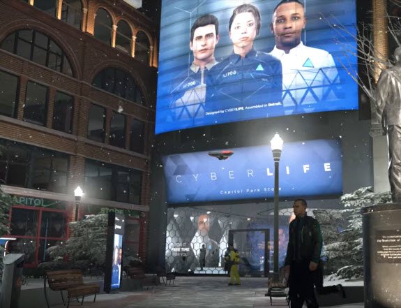 سایبرلایف (CyberLife) Detroit: Become Human