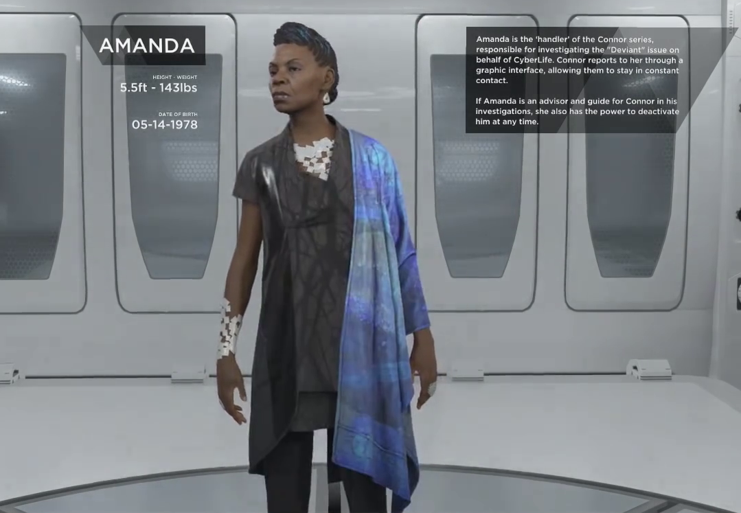 Detroit become human amanda
