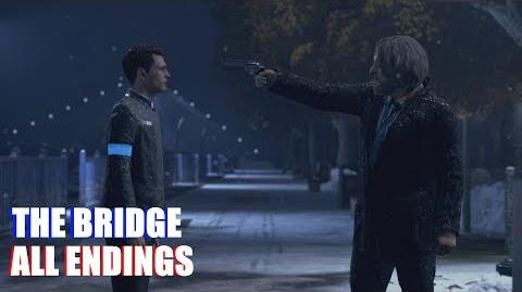 All Choices (The Bridge Hank & Connor PS4 Pro)
