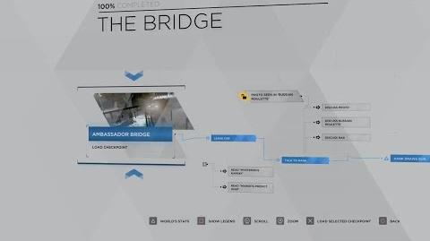 22 - CONNOR - THE BRIDGE 100% FLOWCHART - DETROIT BECOME HUMAN