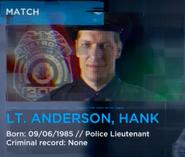 Hank anderson scan info