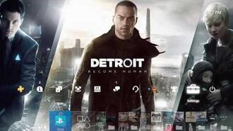 Detroit Become Human (Pre-Order theme) PS4