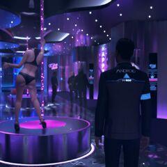 Tänzerin im Eden Club