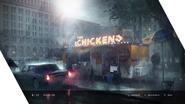 Chicken feed concept art