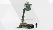 US army surveillance tower concept art