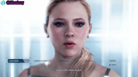 Detroit Become Human - Hold On Just A Little While Longer (on the menu)