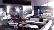 Phillips apartment Concept Art DBH