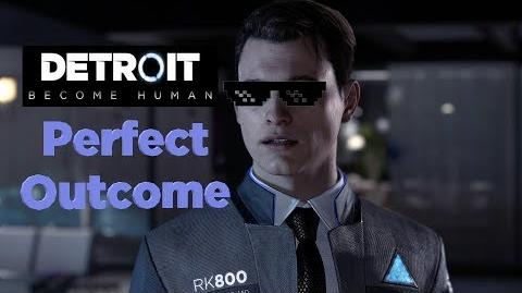PERFECT DETROIT Become Human GAMEPLAY Demo PS4 Pro