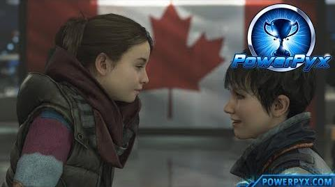Detroit Become Human - HAPPY FAMILY & SAFE HARBOR Trophy Guide (Canadian Border Ending)
