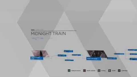 Detroit- Become Human Midnight Train 100% Flowchart