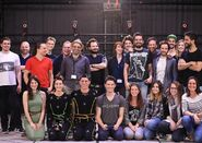 Bryan Dechart and Quantic Dream Team 2