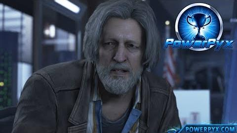 Detroit Become Human - KNOW YOUR PARTNER Trophy Guide (Connor finds all clues about Hank)