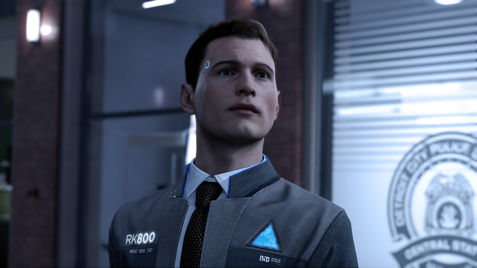 Detroit Become Human Connor Wallpaper: Detroit: Become Human Wikia