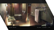 Eastern Motel Bathroom Artwork