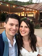 Bryan Dechart and Amelia Dechart