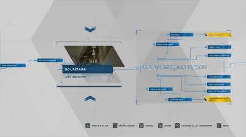 Detroit Become Human - A New Home Flowchart - 100% Walkthrough