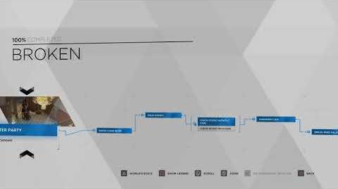 Detroit Become Human - Broken Flowchart 100% walkthrough