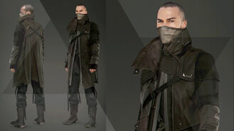 Markus dark color outfit Artwork