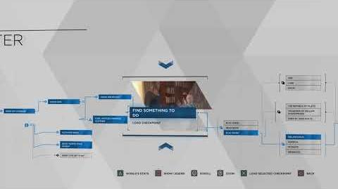 Detroit Become Human The Painter Flowchart - 100% Walkthrough