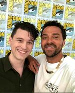 Jesse Williams and Bryan Dechart