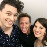 Bryan Dechart, Kristopher Bosch and Amelia Rose Blaire