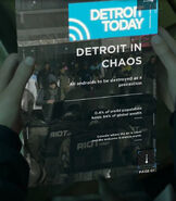 Detroit in Chaos