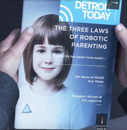 The Three Laws of Robotic Parenting