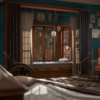 Carls Schlafzimmer