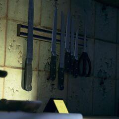 Messer in der Küche