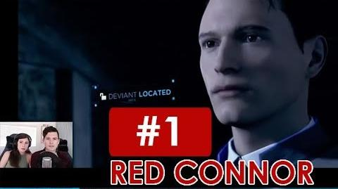 Bryan Dechart plays RED CONNOR Stream 1 Detroit Become Human