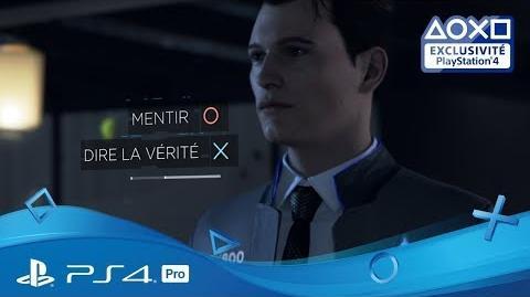 4K Detroit Become Human - Trailer de la démo Disponible sur le PS Store Exclu PS4