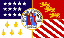 Municipal Flag of Detroit