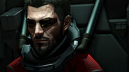 Adam Jensen undercover as prisoner
