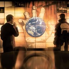 Саймонс и Пейдж в анимационном трейлере