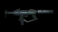 Machine Pistol back DXMD