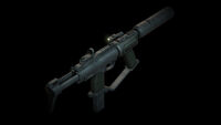 Machine Pistol back angle DXMD