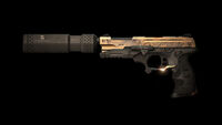Pistol Elite with silencer