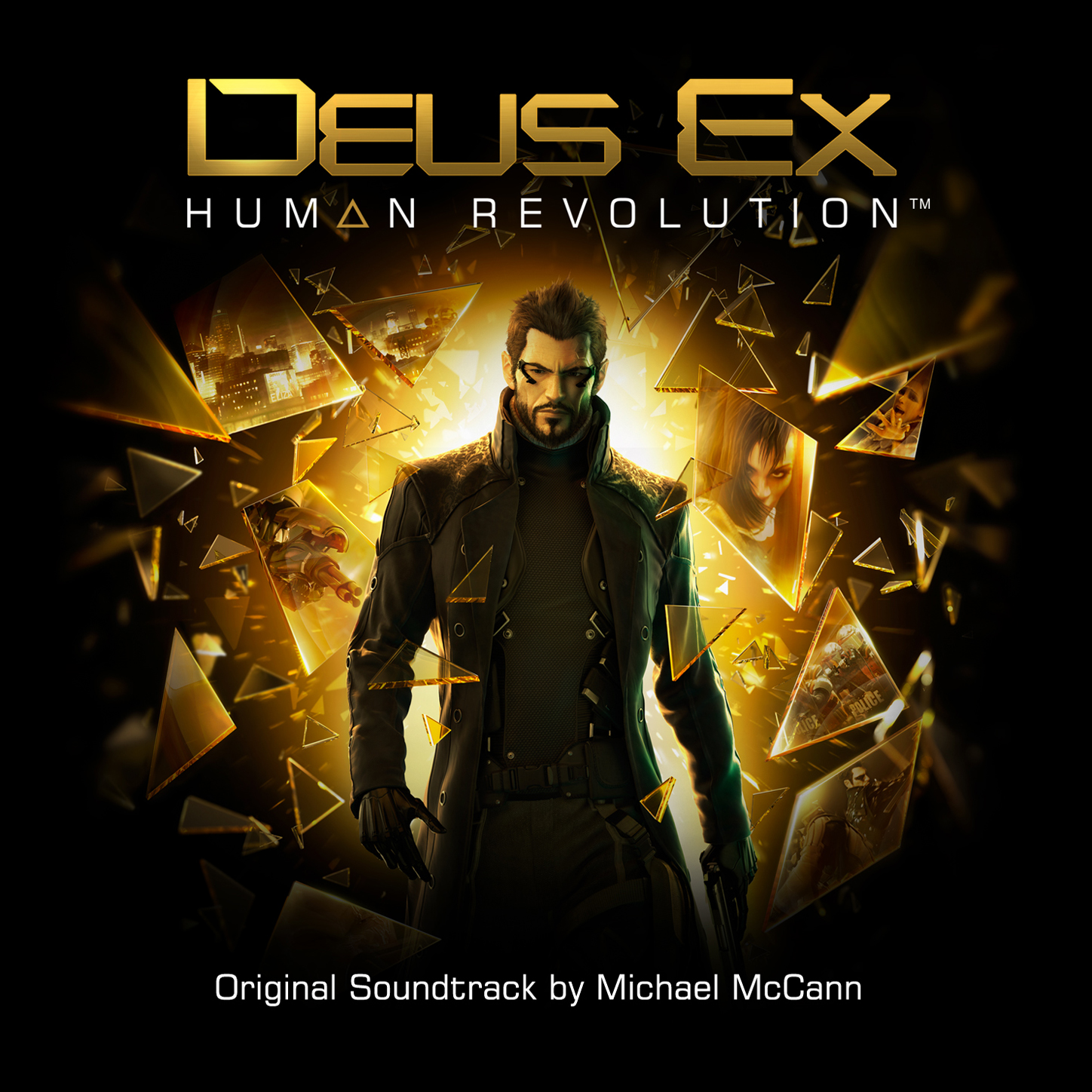 Video game soundtrack deus ex: human revolution (game original.