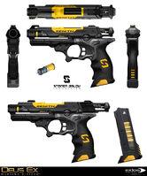 DXMD tranquilizer gun concept