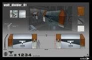 Wall divider 01 (Tarvos HQ concept)