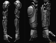 Shadow Operatives arm sculpt2