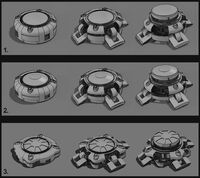 DXMD mine initial concept