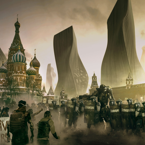 Концепт. Москва в 2029 г., спустя два года после Инцидента.