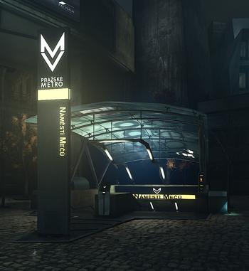 Image of Blade Plaza Station