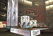 Sarif HQ foyer
