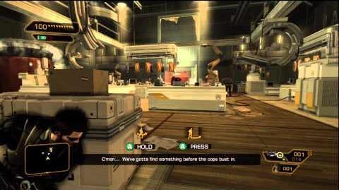 Deus Ex Human Revolution Pacifist Achievement Guide Part 2 - Defending Sarif Manufacturing