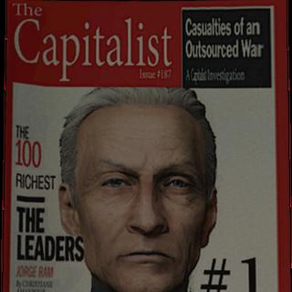 Дебирс на обложке журнала в 2029 году