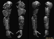 Shadow Operatives arm sculpt1