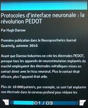 Protocoles d'interface neuronale la révolution PEDOT