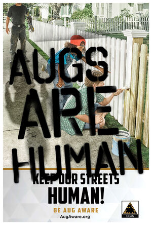 Augs Are Human poster 2